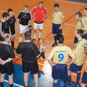 Futsalový turnaj finančníkov